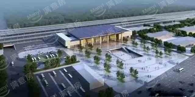 燕郊高铁站设计图