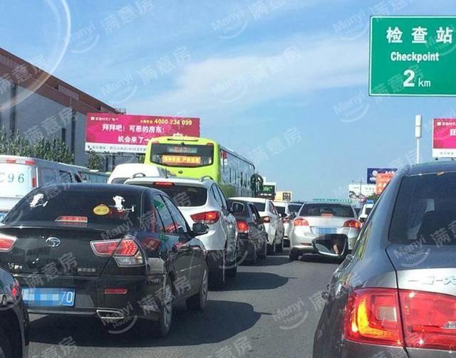 通燕高速平时拥堵的日常