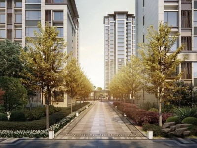 刚需买房十大建议!(买房干货精选)--中和府以新中式建筑为形制,内部营建中式园林