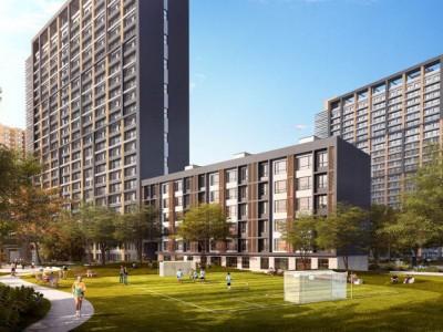 嘉都项目目前86-118平的一至三居现房住宅正在销售,主要的户型为南北通透或纯南向的户型